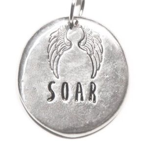 NWT Natalie Grant Silver SOAR Necklace